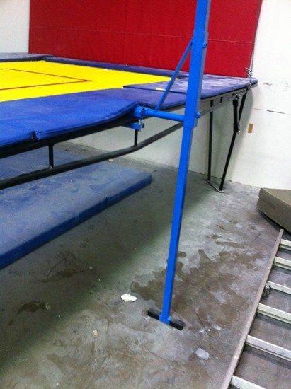 Trampoline Spotting Rig D Versified Sports Inc