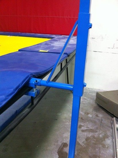 Trampoline Spotting Rig D Versified Sports Inc
